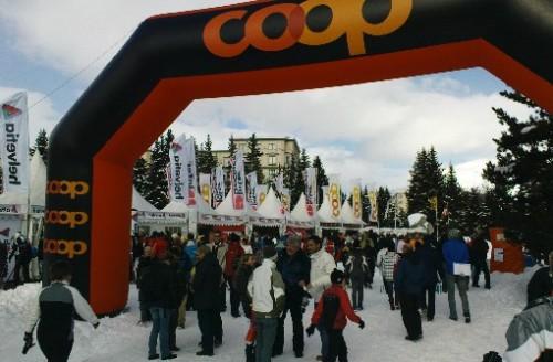 """Skimesse """"Olympic Village"""" i St.Moritz"""