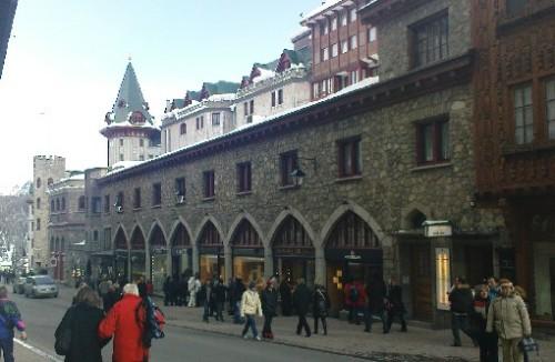 Shopping(titte)-tur i St.Moritz