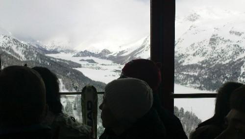 Som turist opp til Corvatsch på 3303moh!