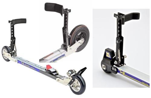 jenex v2 rulleski med brems