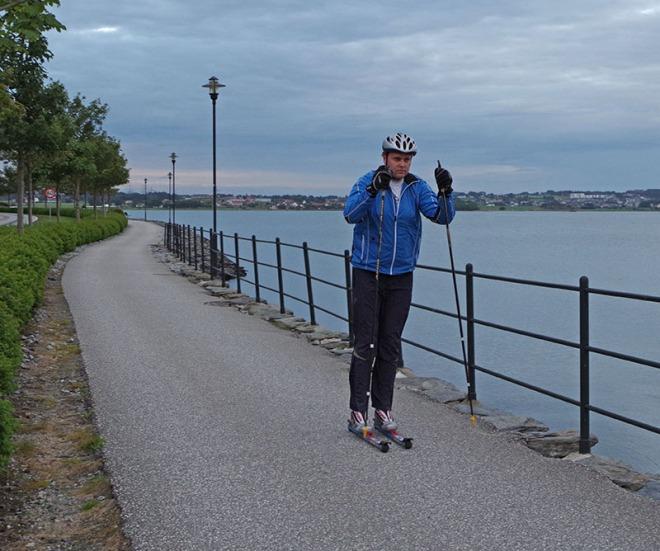 Rulling ved hafrsfjord, Lars Vagle
