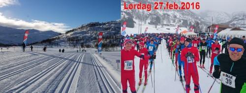 sirdal skimaraton 2016