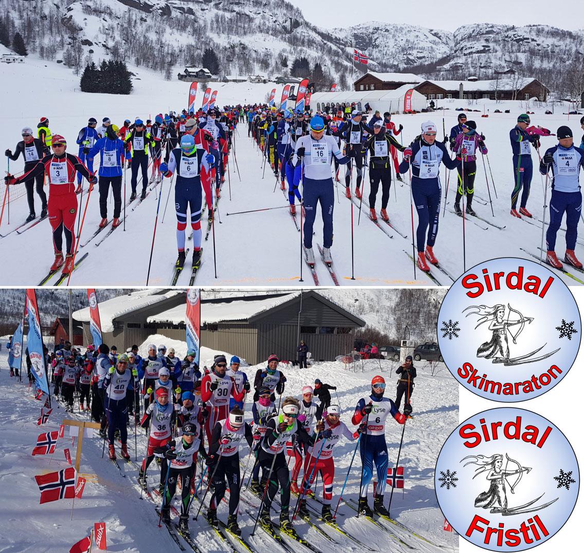 skimaraton og fristil i 2018